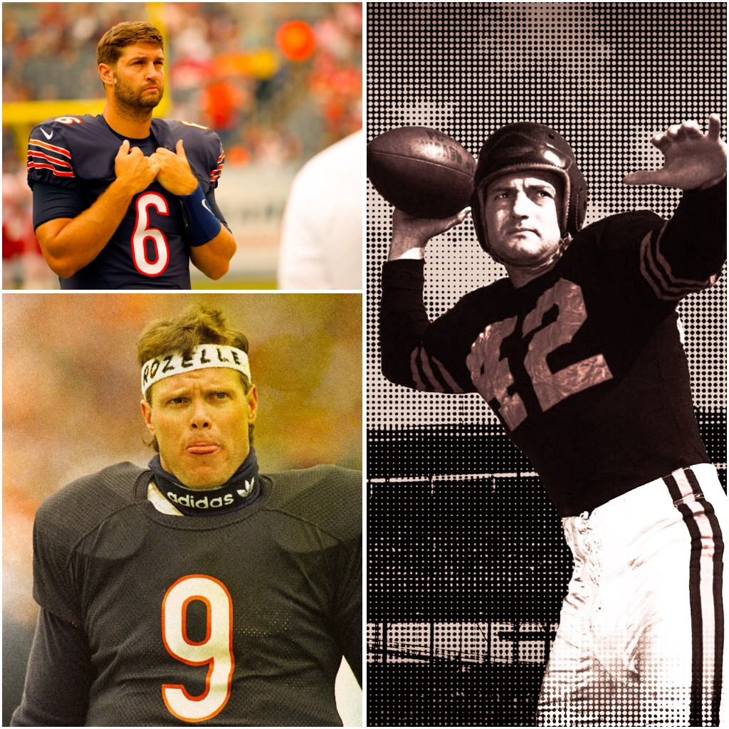 Top 5 Greatest NFL Quarterbacks in Chicago Bears History