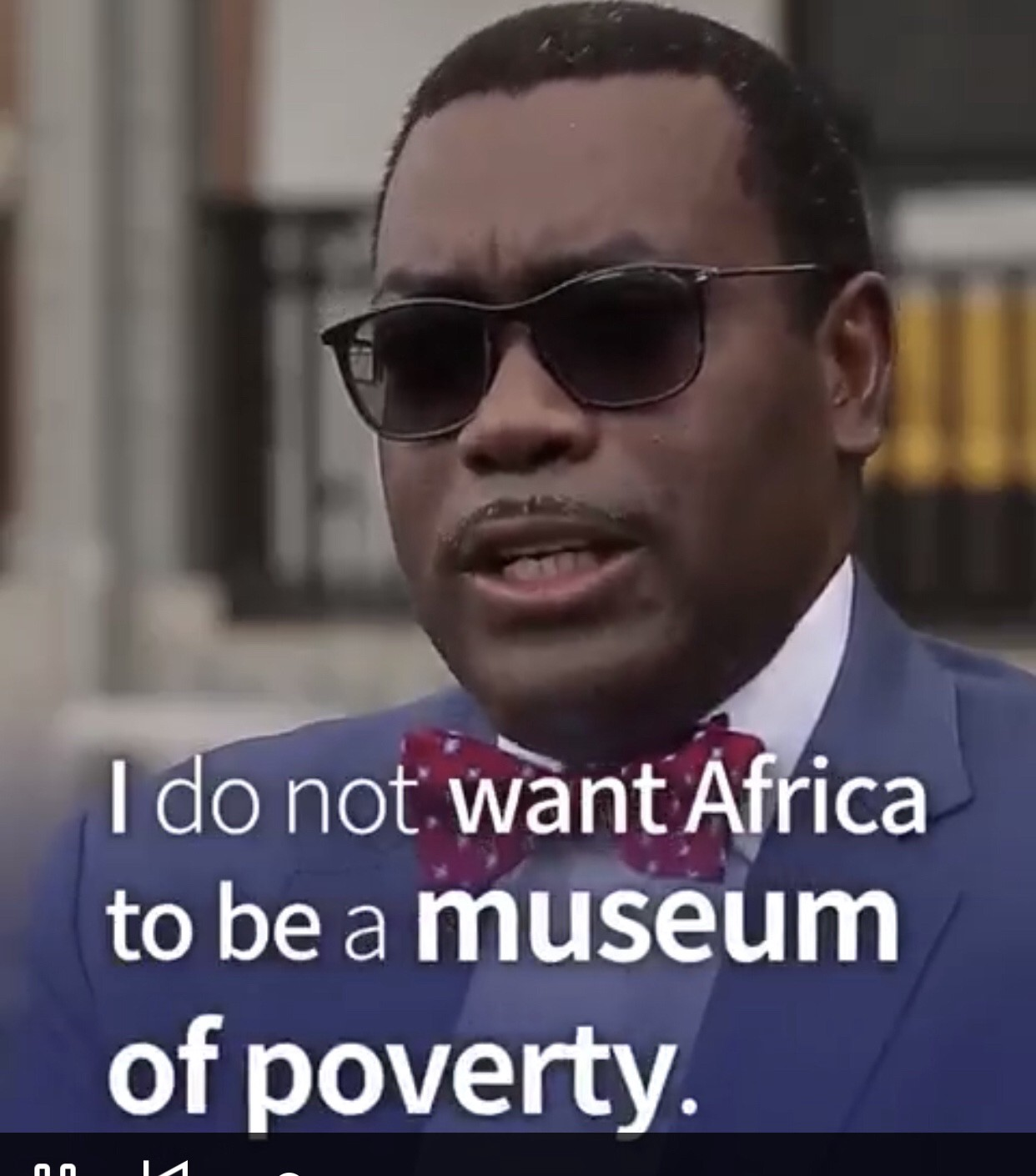 Picture taken from the NABN true story of Dr Akinwumi Adesina-President of AfDB