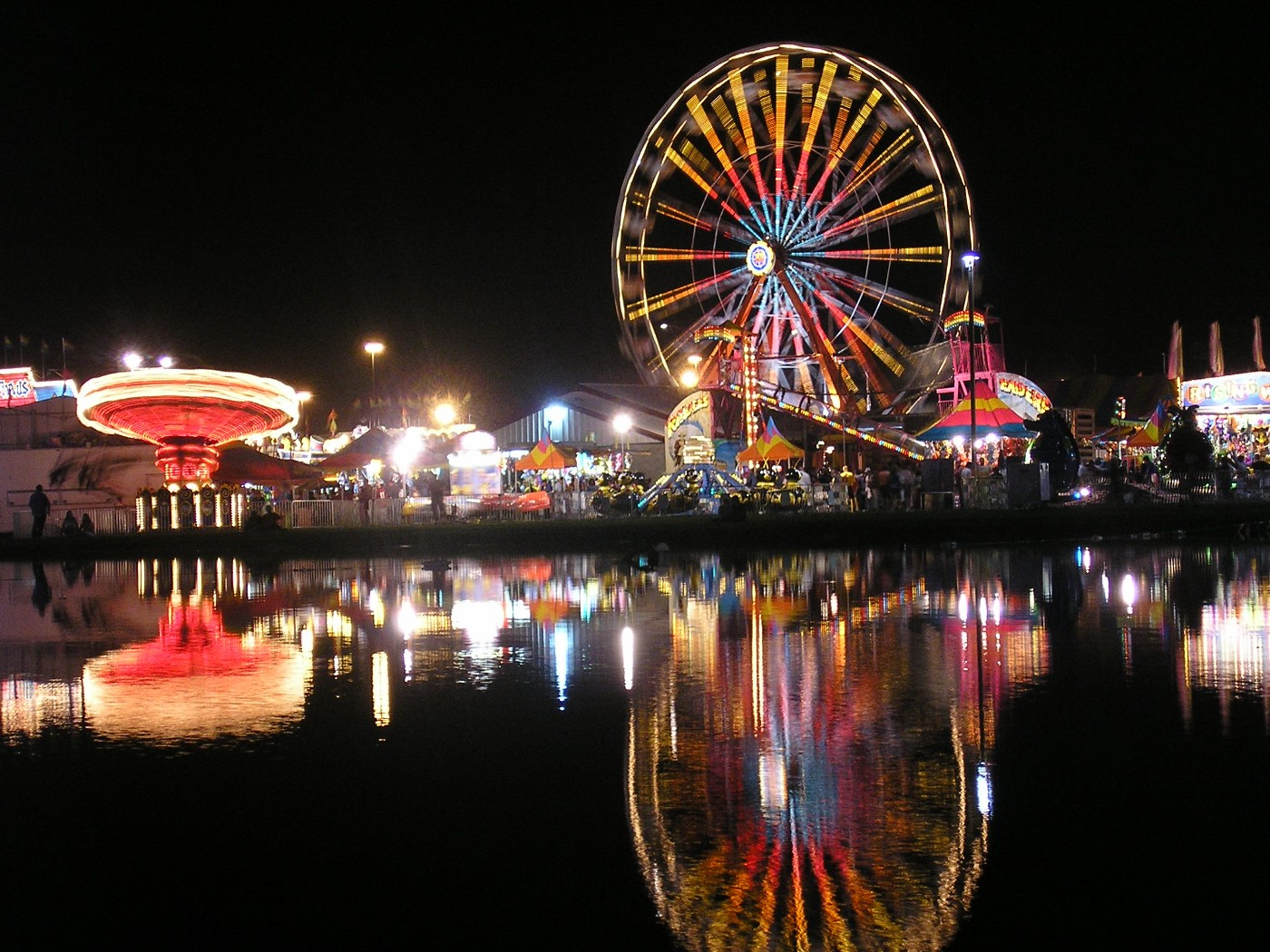 The Georgia National Fair Midway 2007 by Andy Middleton Photography CC