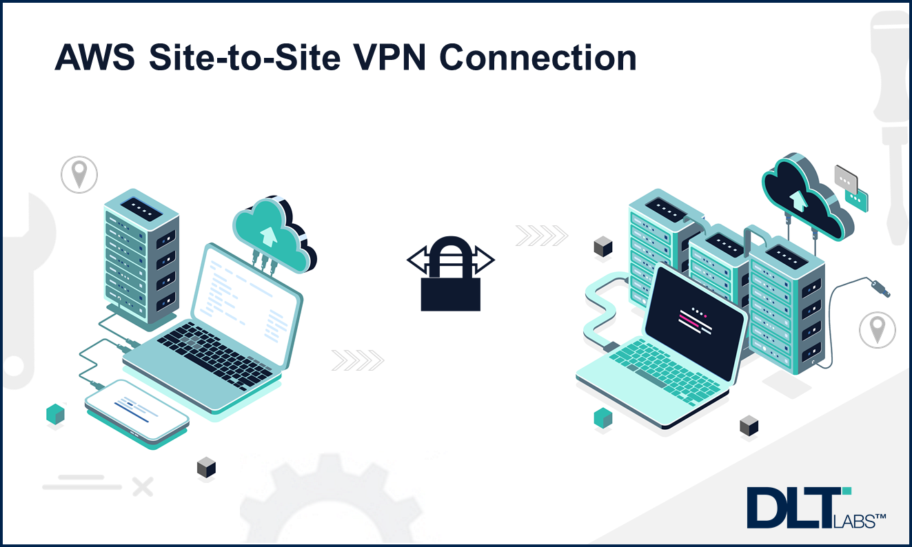 How do you set up an AWS site-to-site VPN connection?