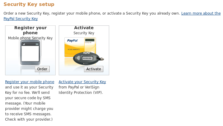 Set up 2FA (Two Factor Authentication) for PayPal with Google
