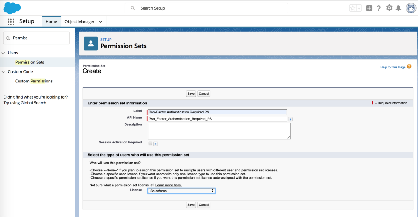Single Sign-On with Two Factor Authentication in Salesforce (End to