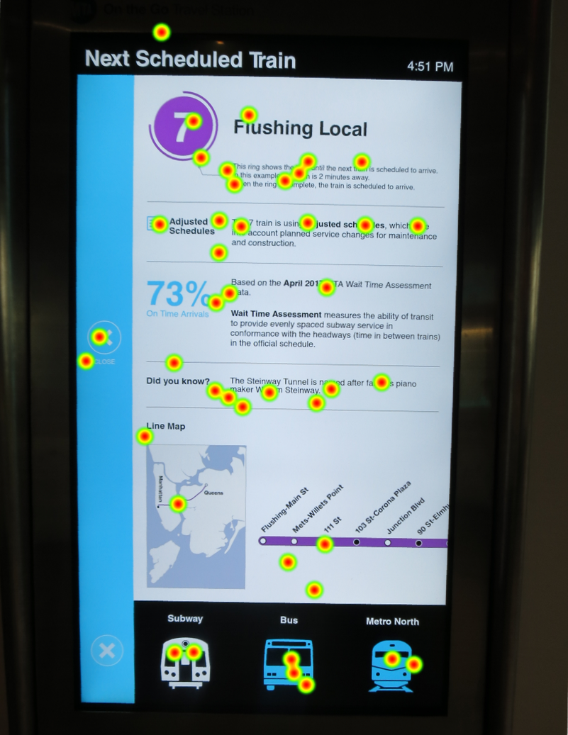 User Research Exploration: Eye Tracking for Wayfinding Products