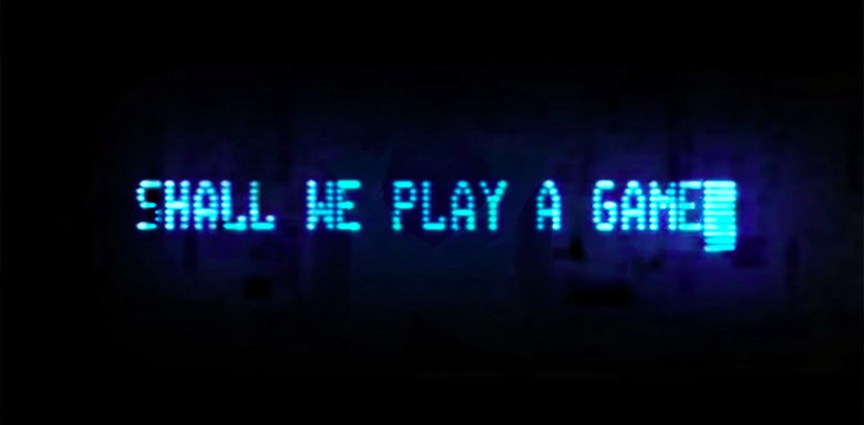 """""""Shall We Play A Game"""" Image from 1983 Science Fiction-Hacker movie """"War Games"""""""