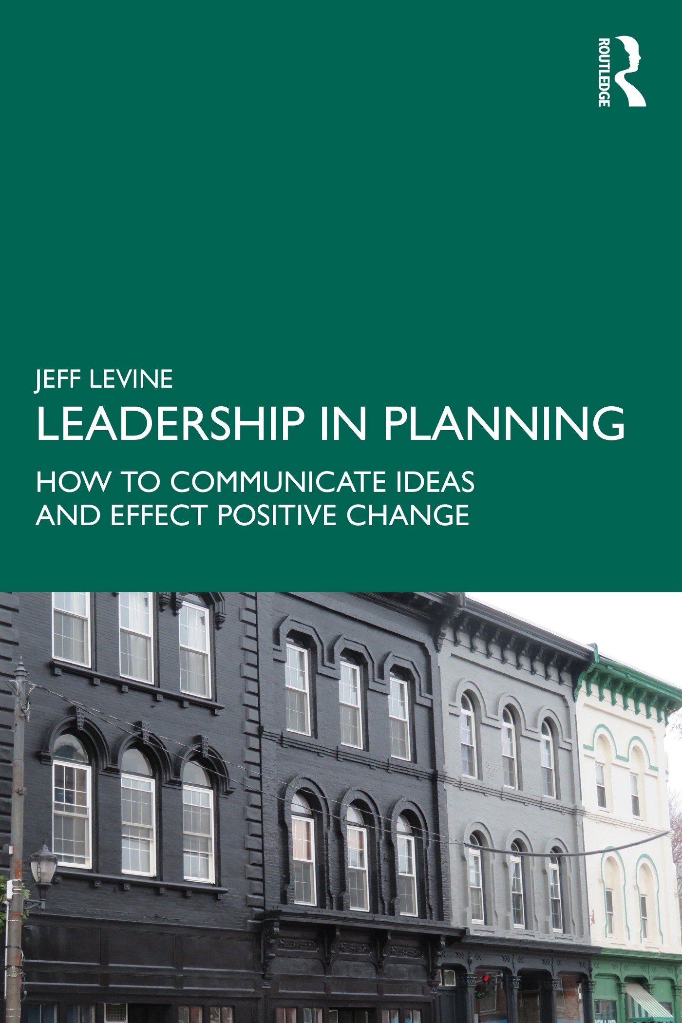 """Book cover: """"Leadership in Planning"""""""