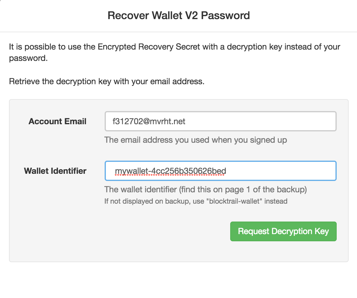 Recover your wallet, quick and easy - The BTC Blog