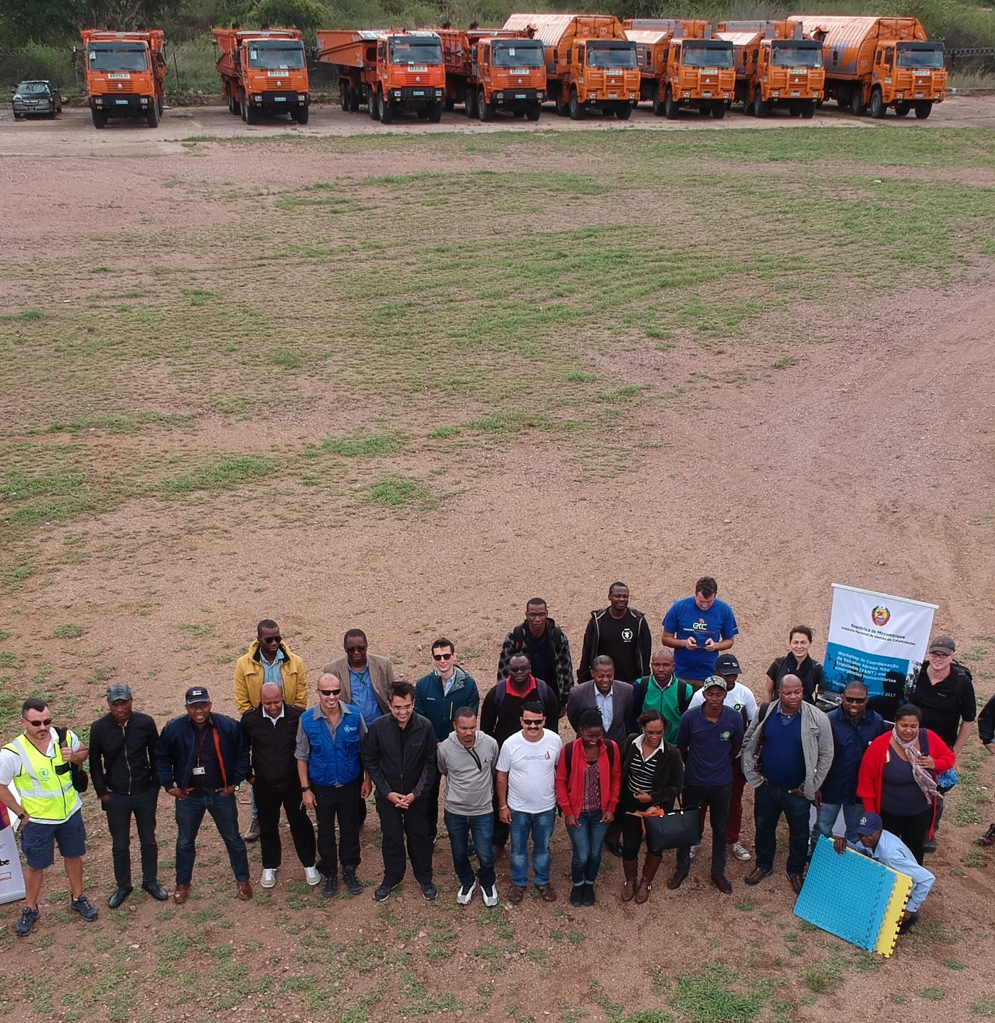 Using drones to deliver critical humanitarian aid - Frontier