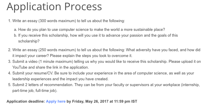 how i won google scholarship   felix josemon   medium writing essays was quite easy getting it right to what is asked is tough  task after writing first draft i showed it rohit sunil and sagara  sasikumar