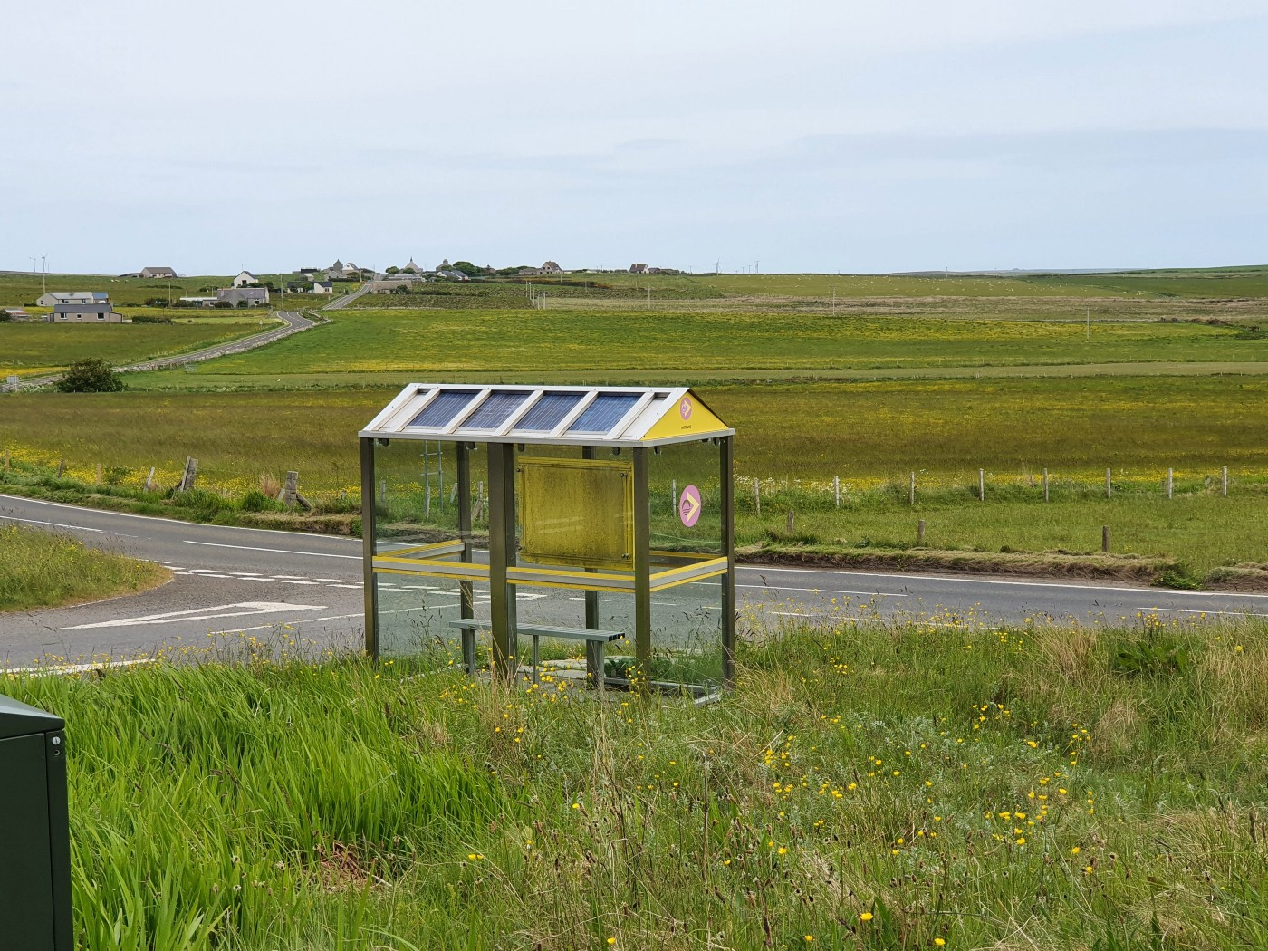Orkney Bus Stop.