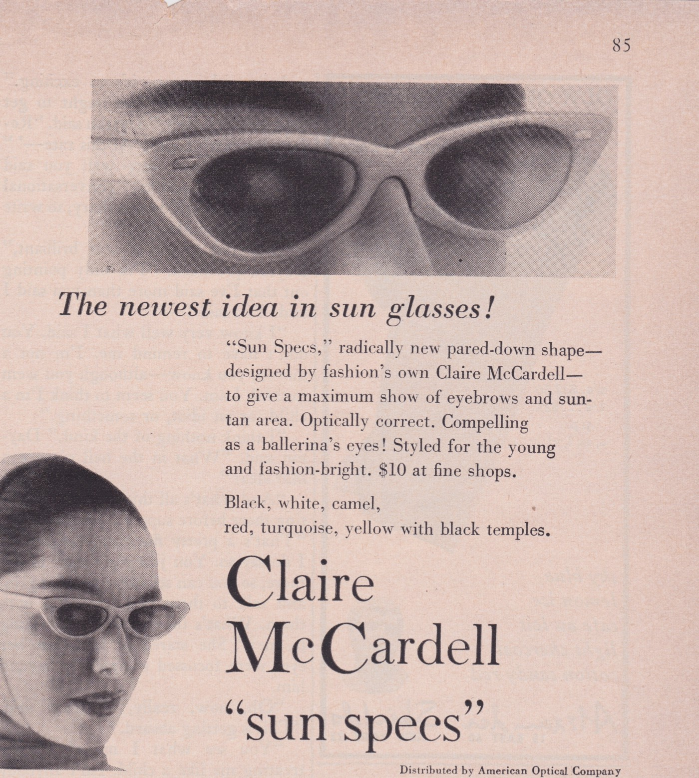 2004e638210b Research Spotlight: Claire McCardell and the Ballet Flat