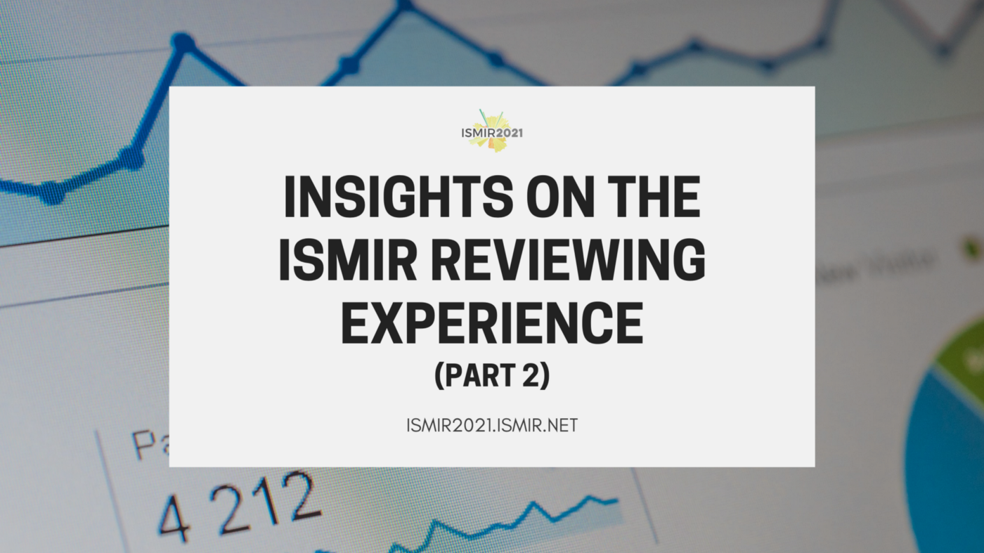 Insights on the ISMIR Reviewing Experience—Part 2