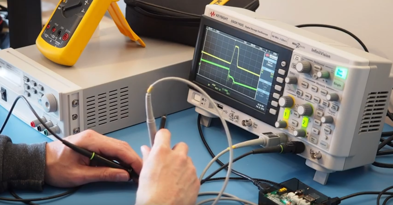 Add Snips Voice Control to Your Keysight Oscilloscope with a