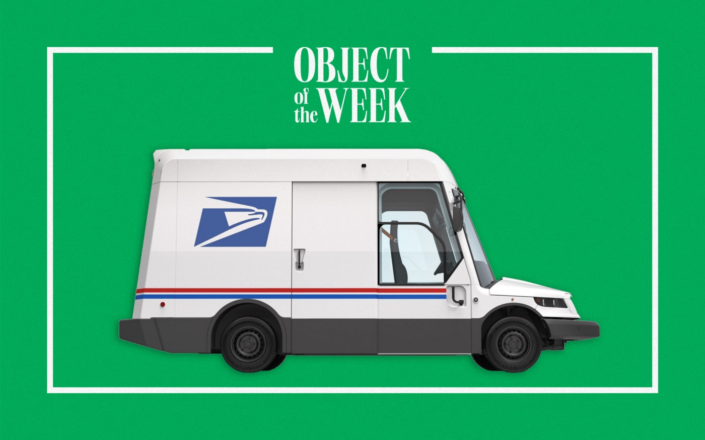 The new US Postal Service truck