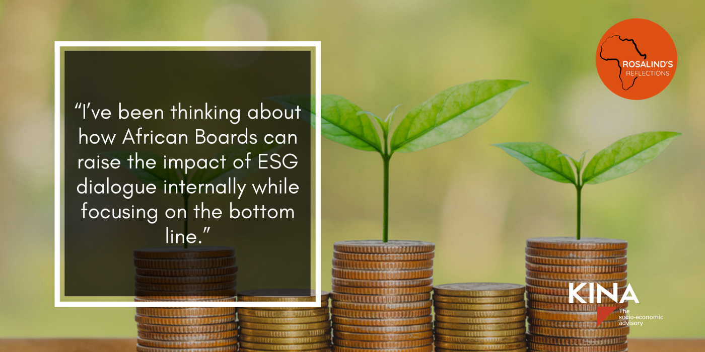 KIna Advisory Article Banner | African Boards: 3 ways to build more effective ESG leadership
