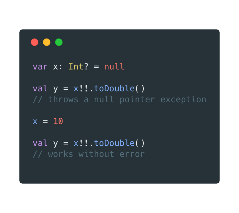 The different ways to handle Nullable type in Kotlin