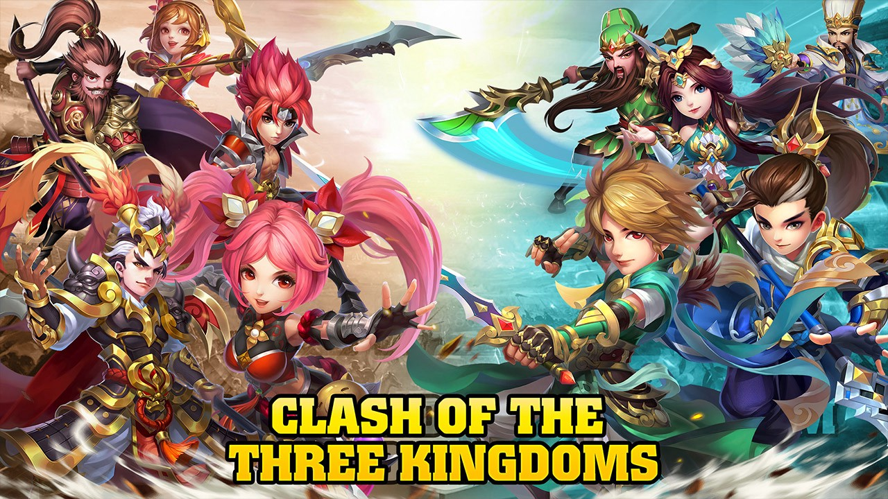 Best Idle Games 2019 Pc One Of The Best Turn based Idle Games In 2019 Three Kingdoms