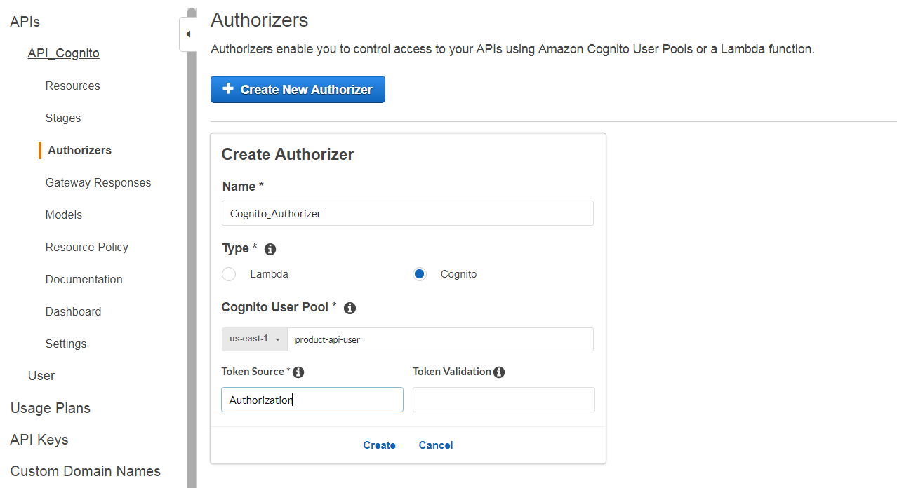 Part 1 : Securing AWS API Gateway using AWS Cognito OAuth2 scopes