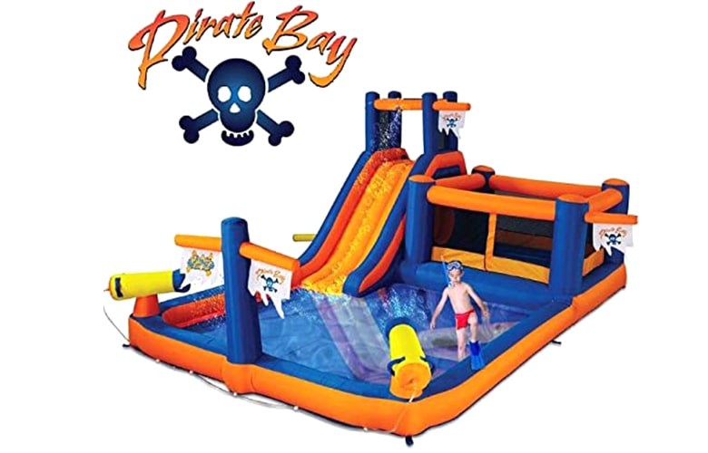 water slide bounce house with blower, water slide bounce house, best water slide bounce house, Water Slide Bounce House with Blower,