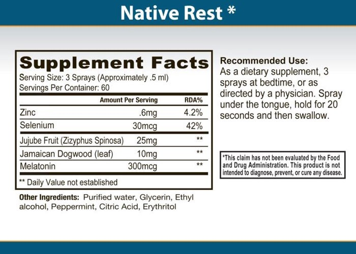 Primal Force Native Rest : This Is Your Natural Formula