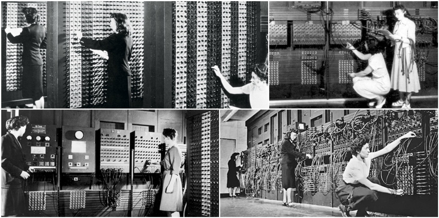 Image result for the eniac girls