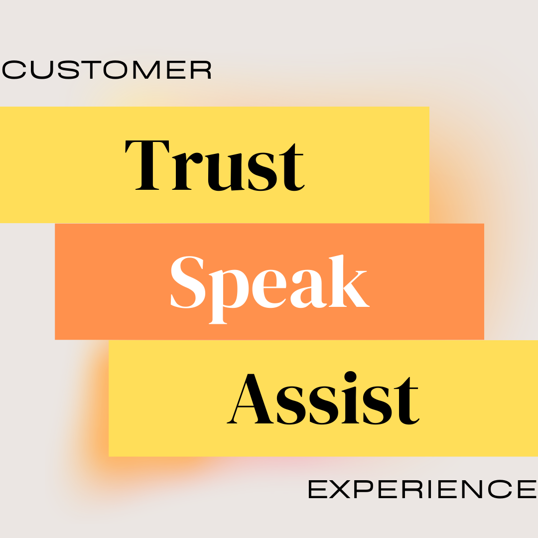 Communication, Trust and Assistance are 3 very important pillars of Customer Service and Customer Satisfaction.