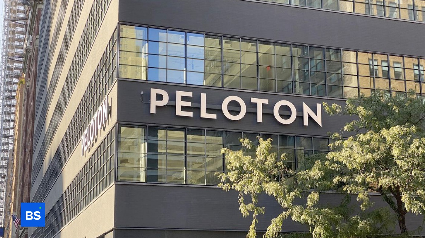 A photo of Peloton's physical office