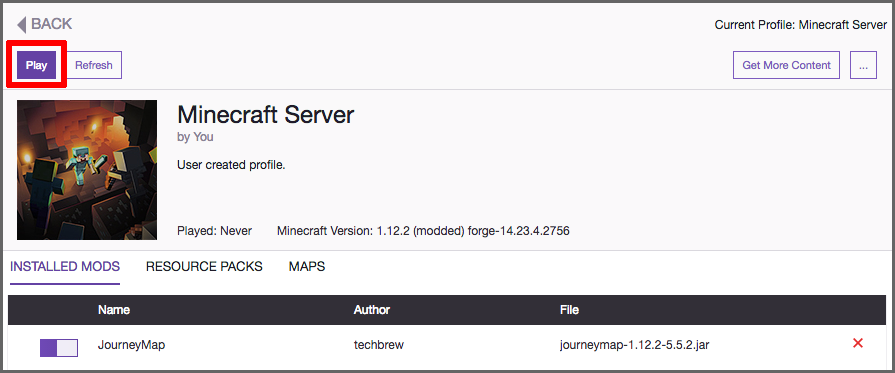 2018 Modded Minecraft Server on AWS : Part 1 — Run a modded