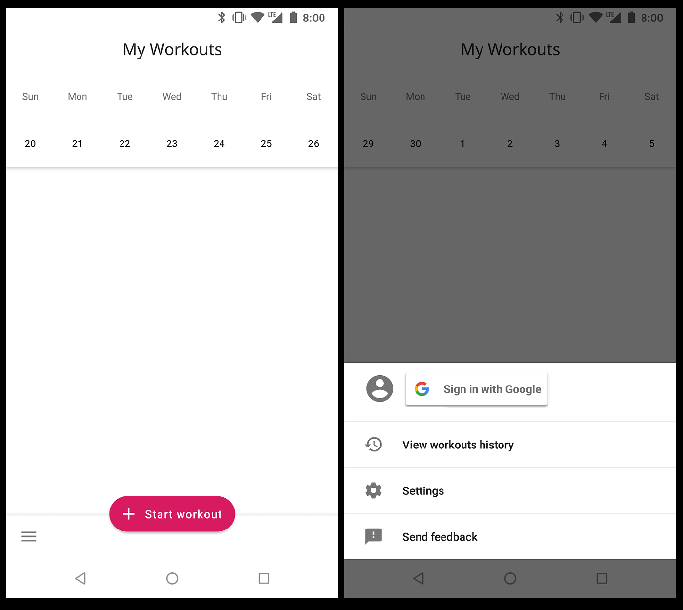 Implementing Google's refreshed modal bottom sheet - The Halcyon