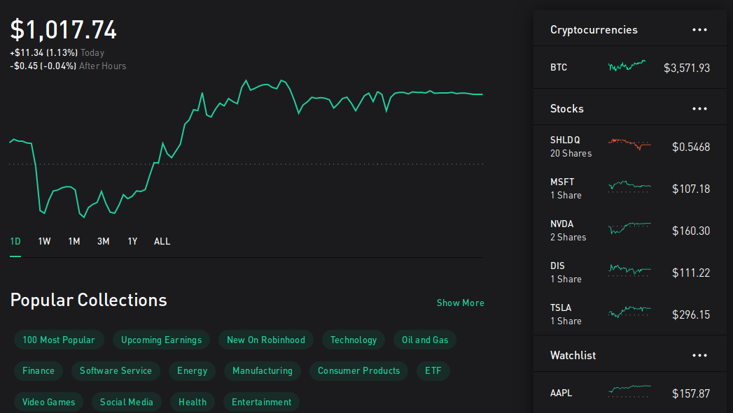 Here's what happened when I gave control of my Robinhood account to