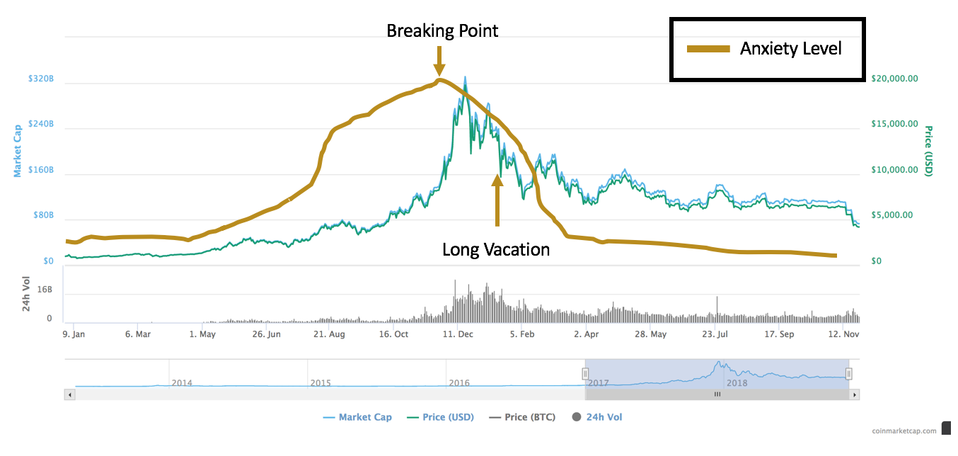 The Rise And Fall Of The Bitcoin Price By Mac Bitcoin Blockchain Explained Medium