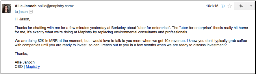How I Turned A Cold Email Into A $2 5M Seed Round - Noteworthy - The