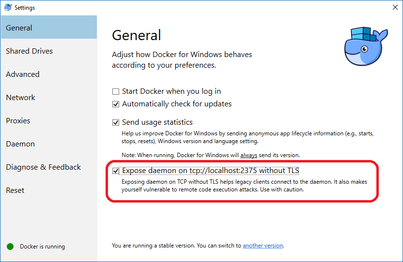 Installing the Docker client on Windows Subsystem for Linux (Ubuntu)