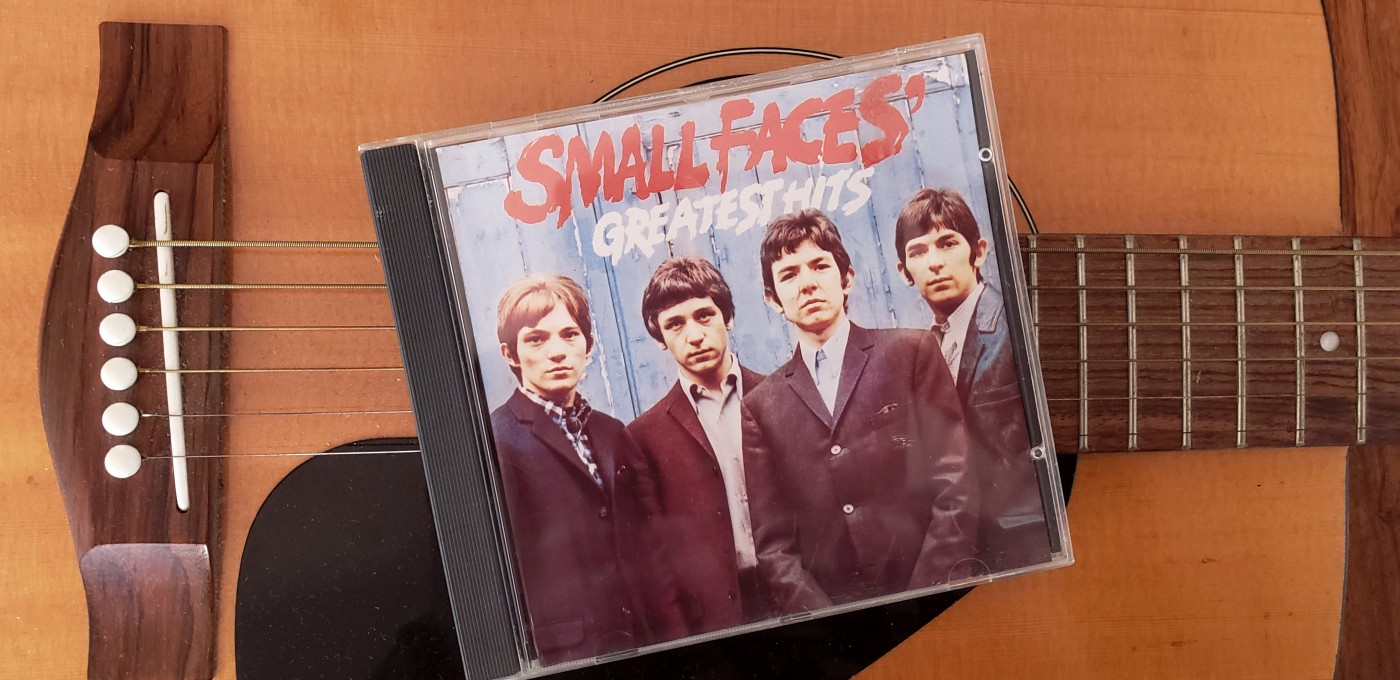 cd cover of the small faces