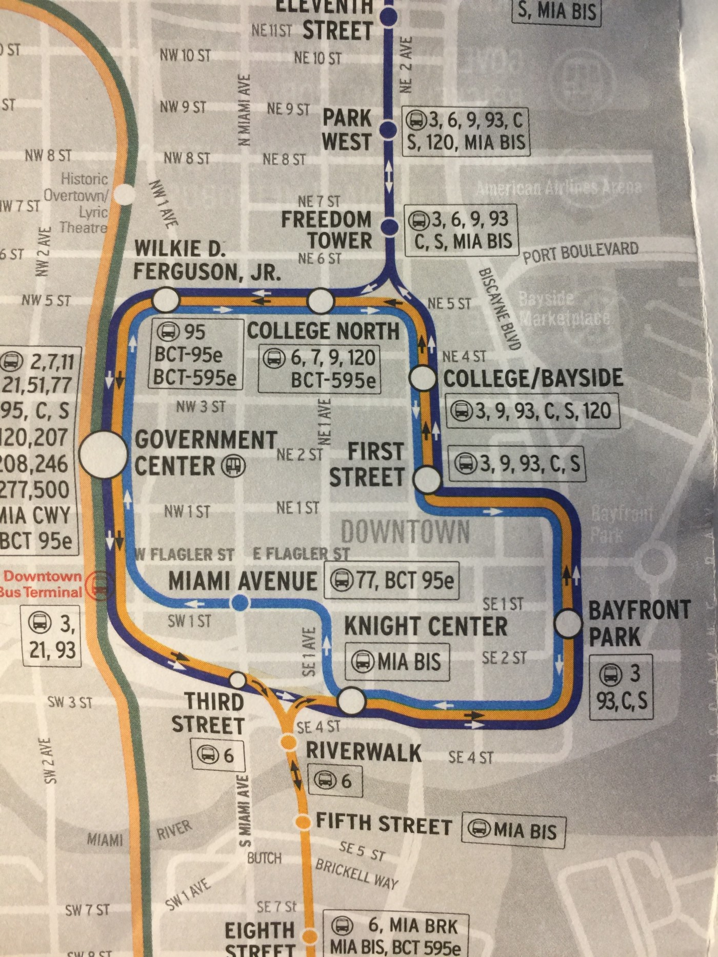 CUTGroup Miami #8 and #9: Improving Miami's Metromover Maps on