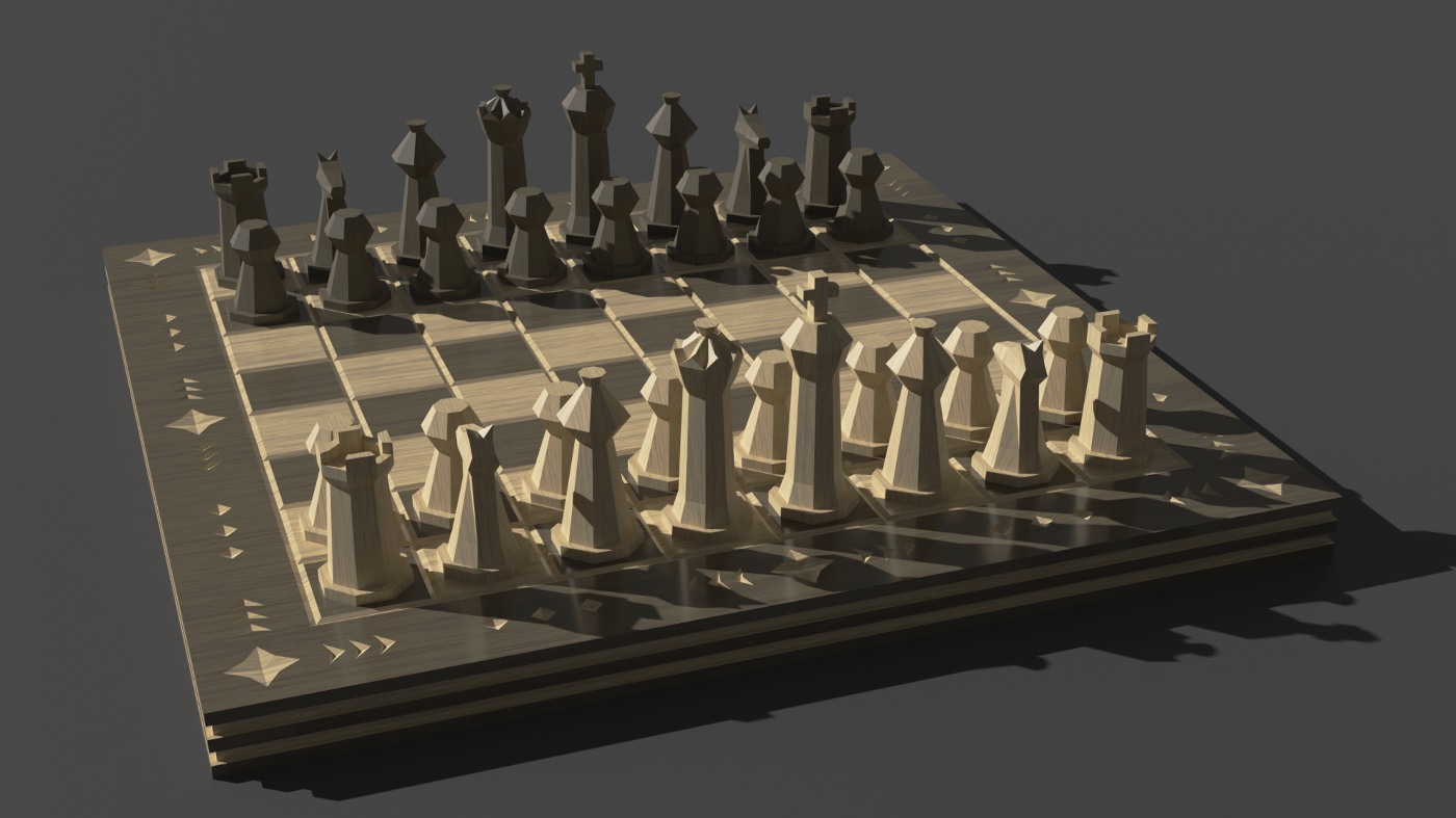 A title image of a chess board.