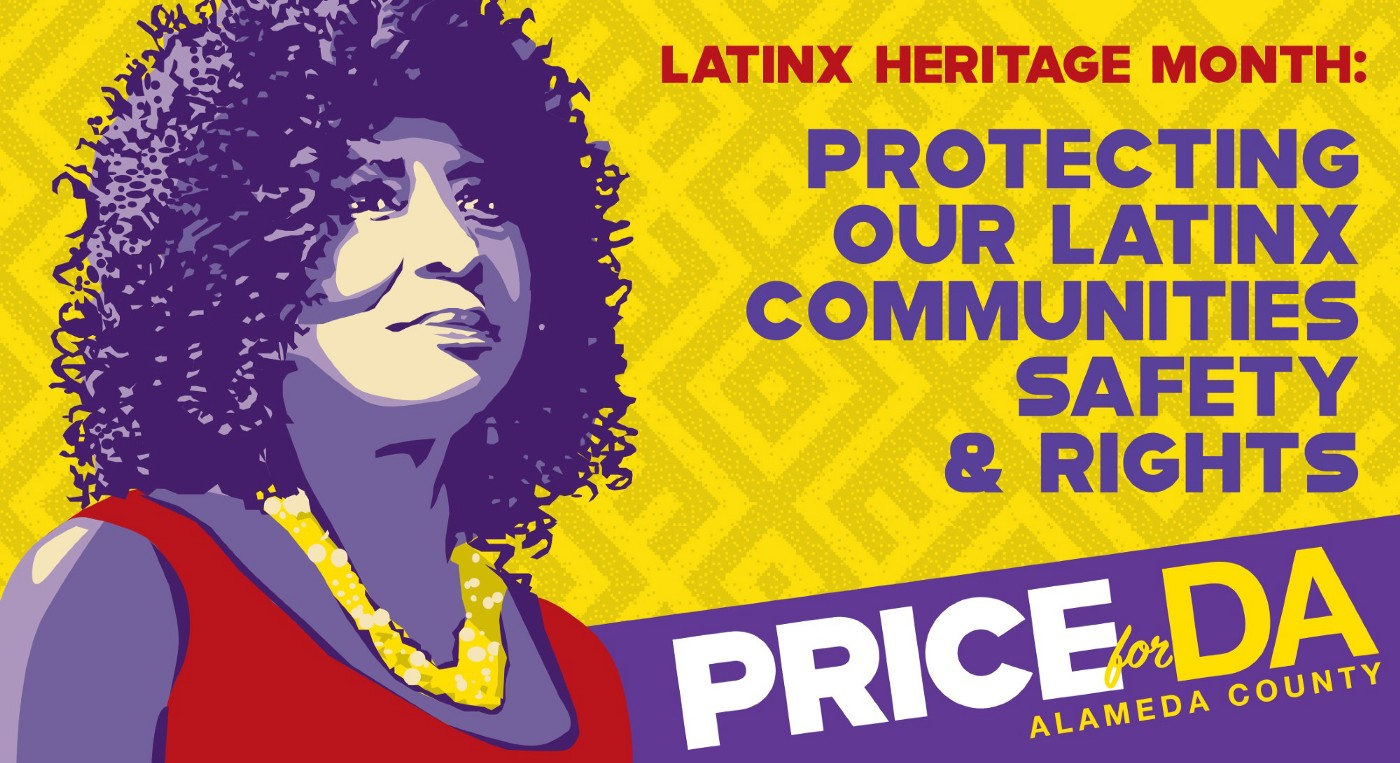 Alameda County District Attorney Candidate Pamela Price Pledges Public Safety for Latinx and Immigrant Communities