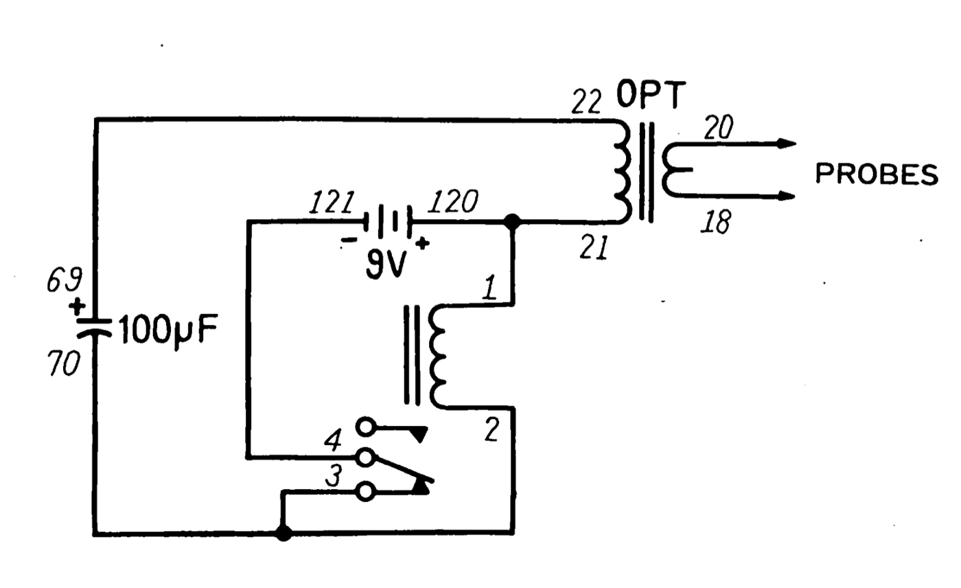 the idea is simple: the relay starts closed (using nc=normally closed  contact), allowing current to energize the relay coil  this opens the relay,