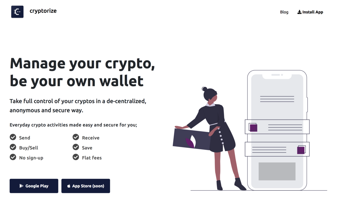 Manage your crypto securely and conveniently. Be your own wallet!