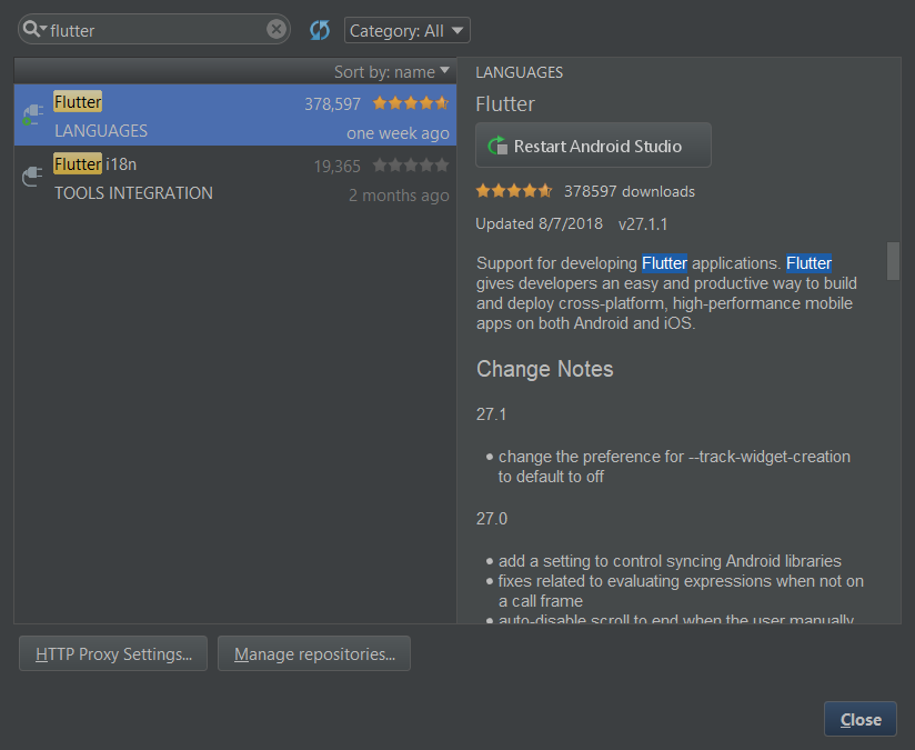Installing Flutter in Android Studio - FlutterPub - Medium