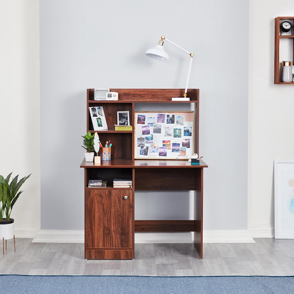 Wooden study table with drawer from Wakefit