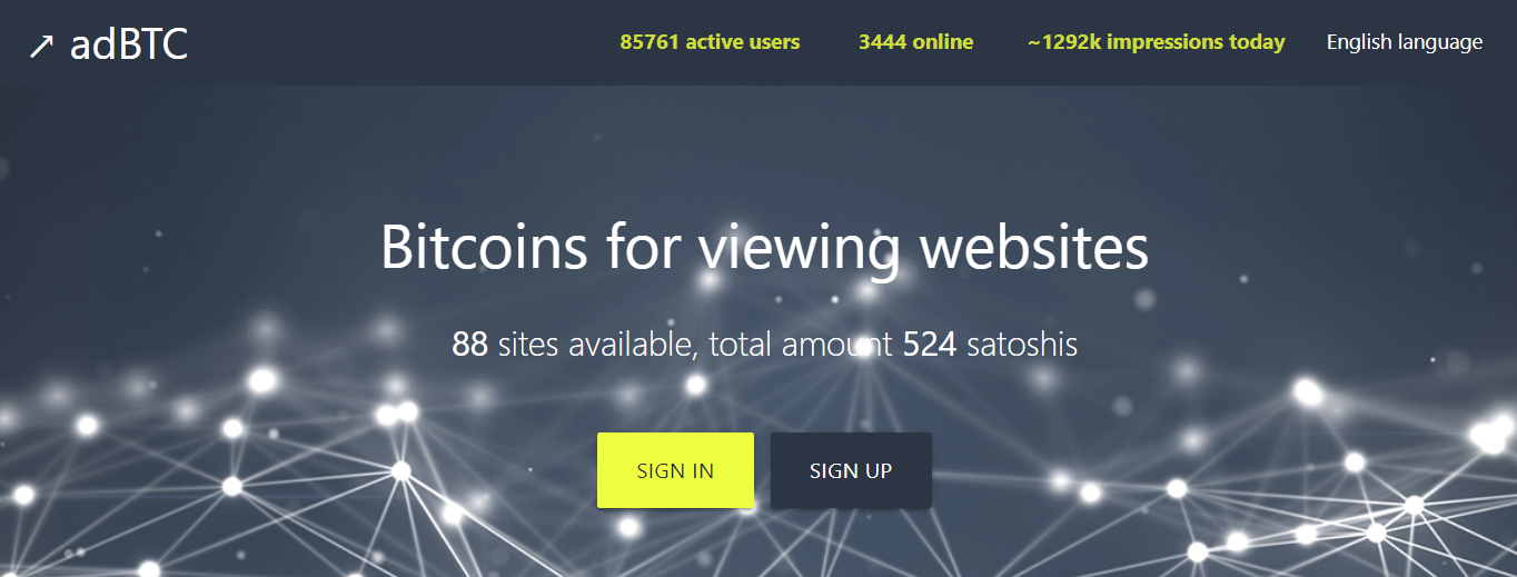 adBTC.top login page