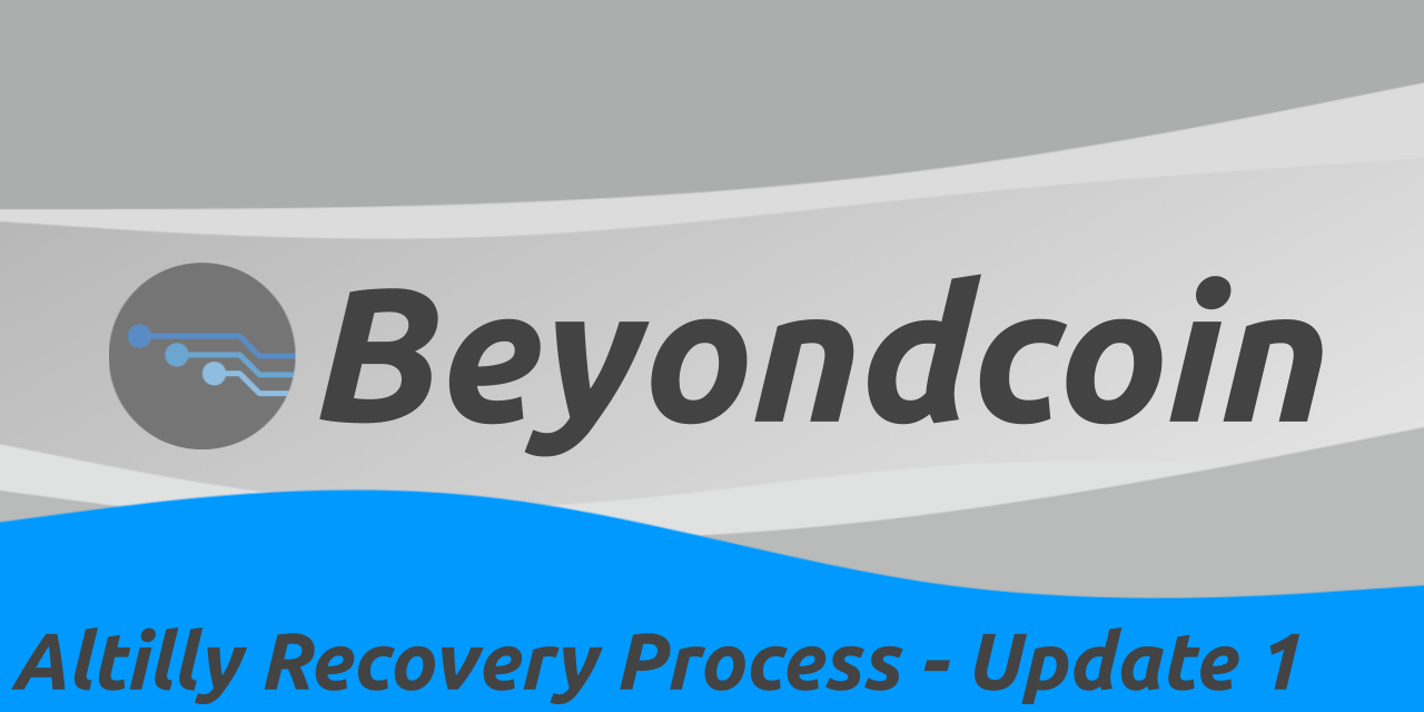Beyondcoin Altilly hack update 1