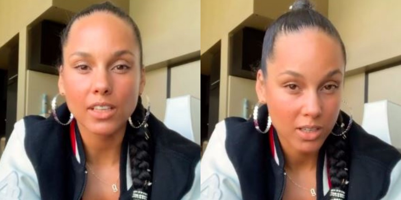 Alicia Keys ranting over labels affecting her son.