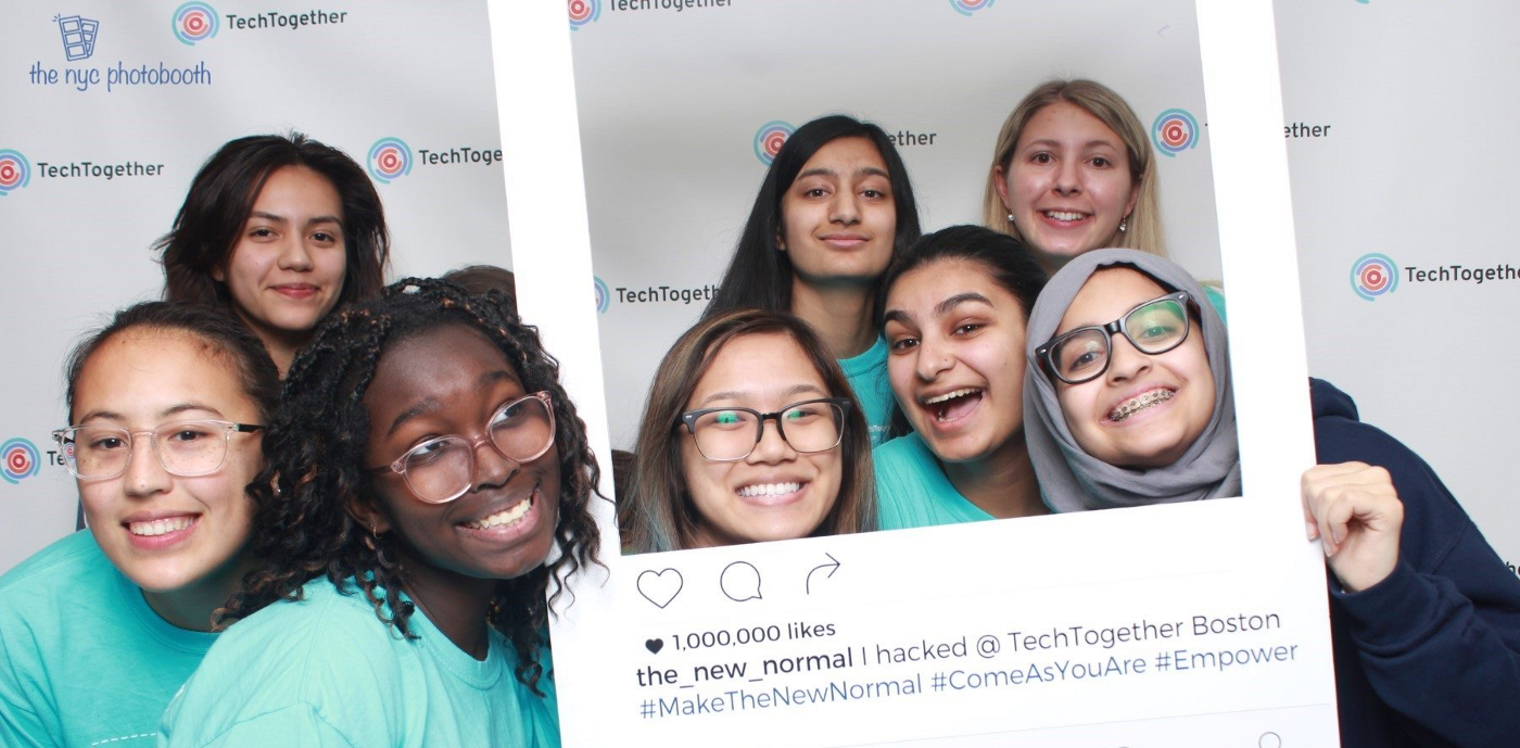 Photo from TechTogether Boston 2019.