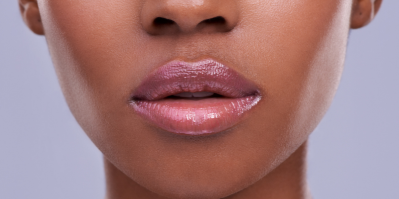 Close up of a woman's mouth—Is Oral Sex Cheating? (Unpopular Opinion)