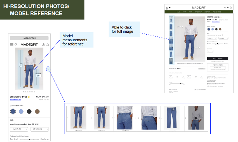 Improving the E-Commerce Experience for Menswear  - Katherine Chiu