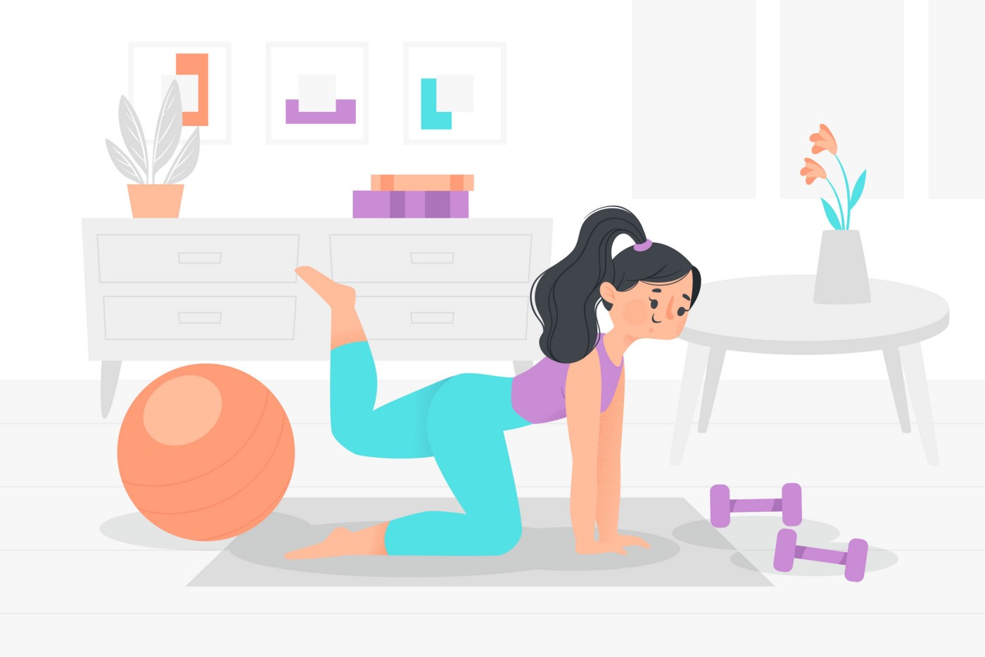 Sometimes a workout is all the therapy you need! (Image Source: Freepik.com)
