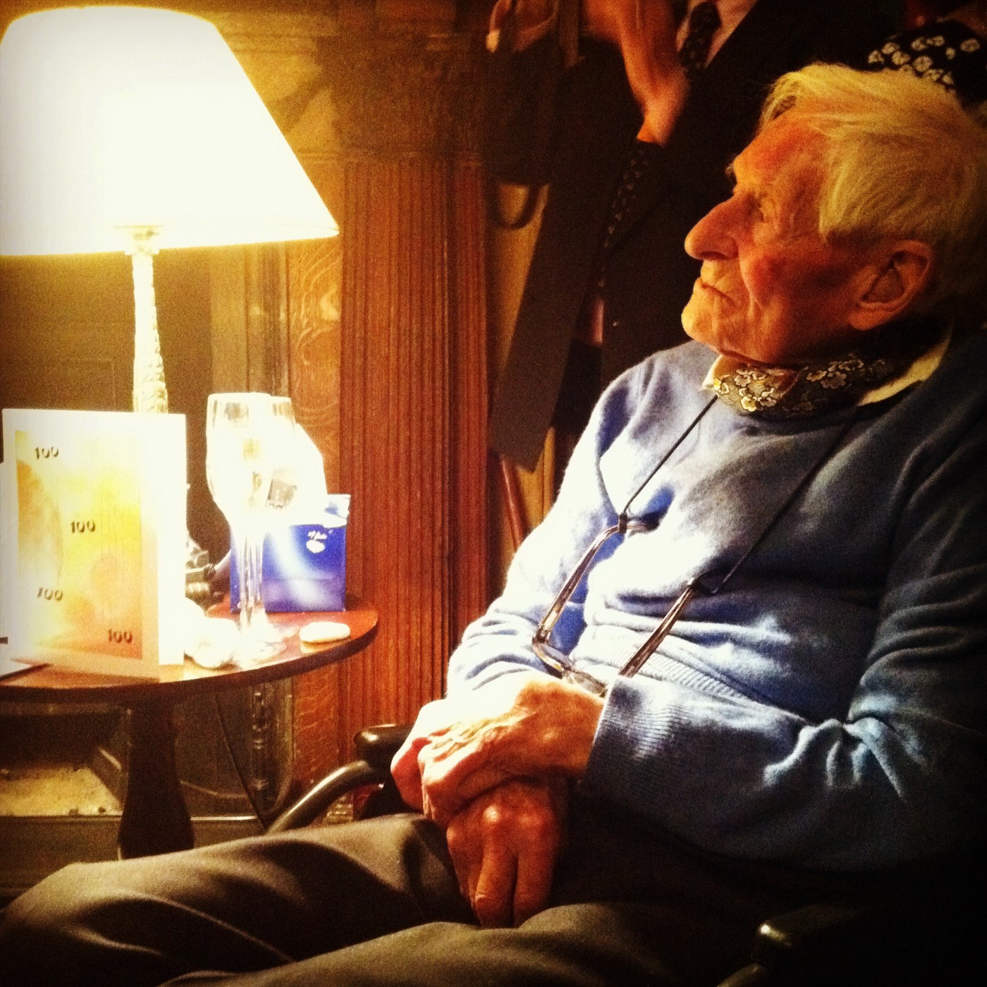 My Uncle-Not-Uncle Sir Francis Thurlow Cuming-Bruce on his 100th Birthday