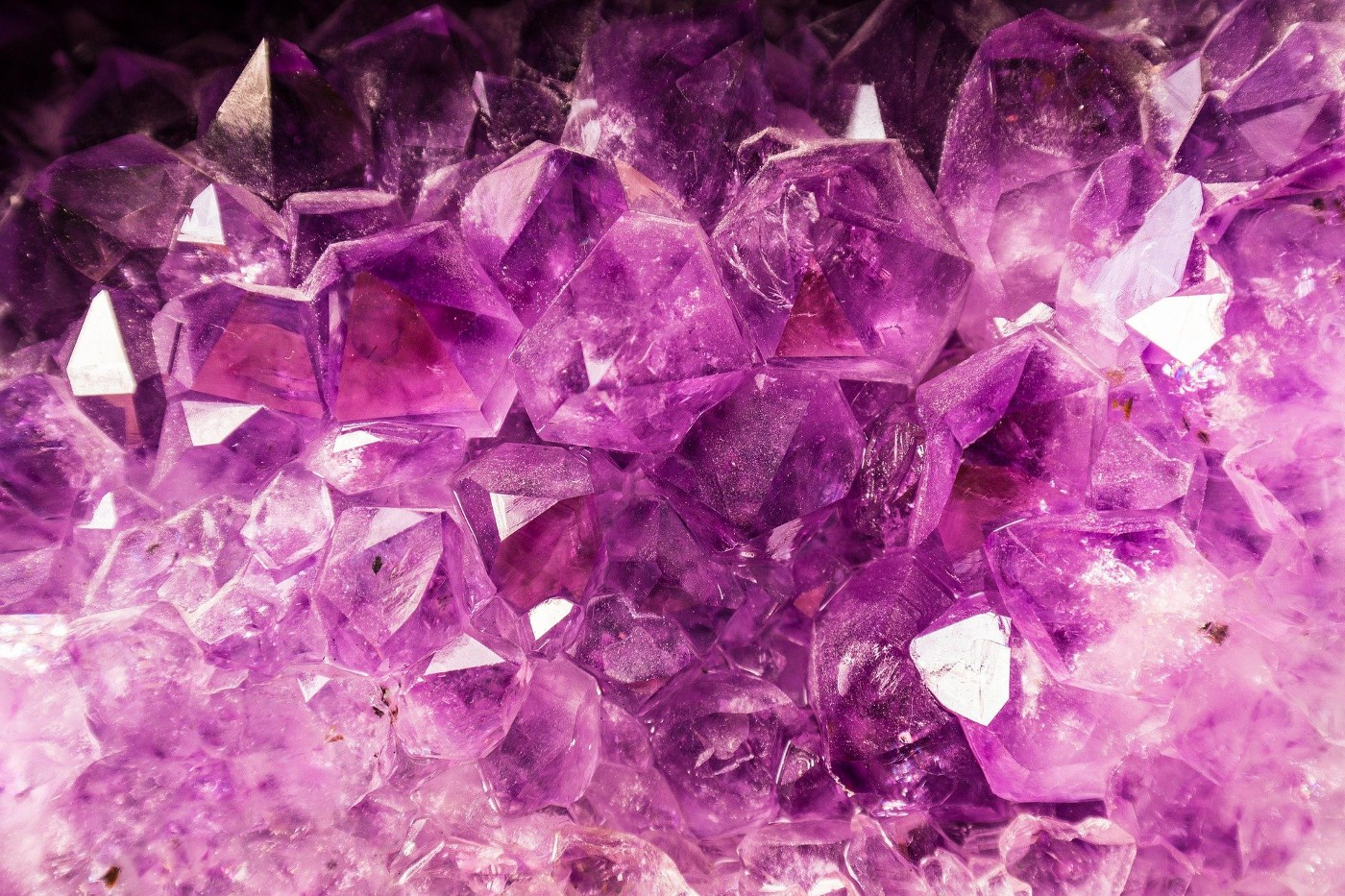 Crystals on a mouse pad…