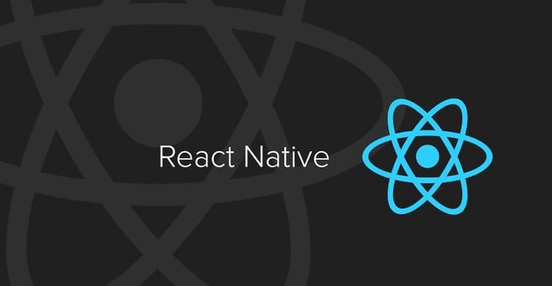 the image is about React Native
